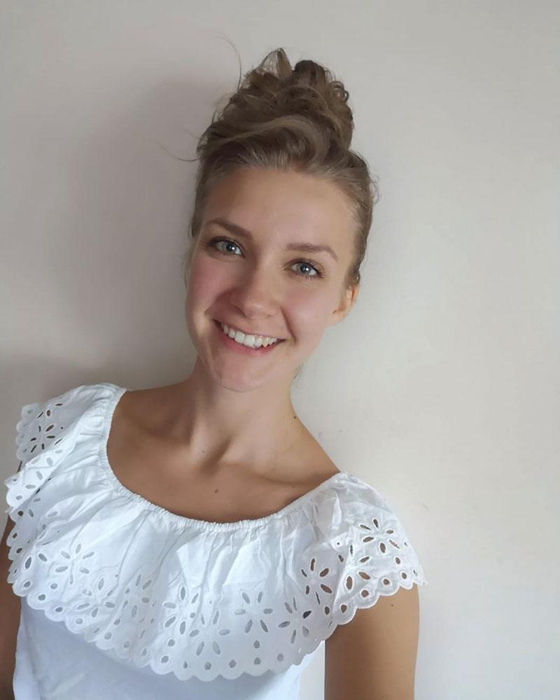 Agata vom Präventionskurse Online-Team