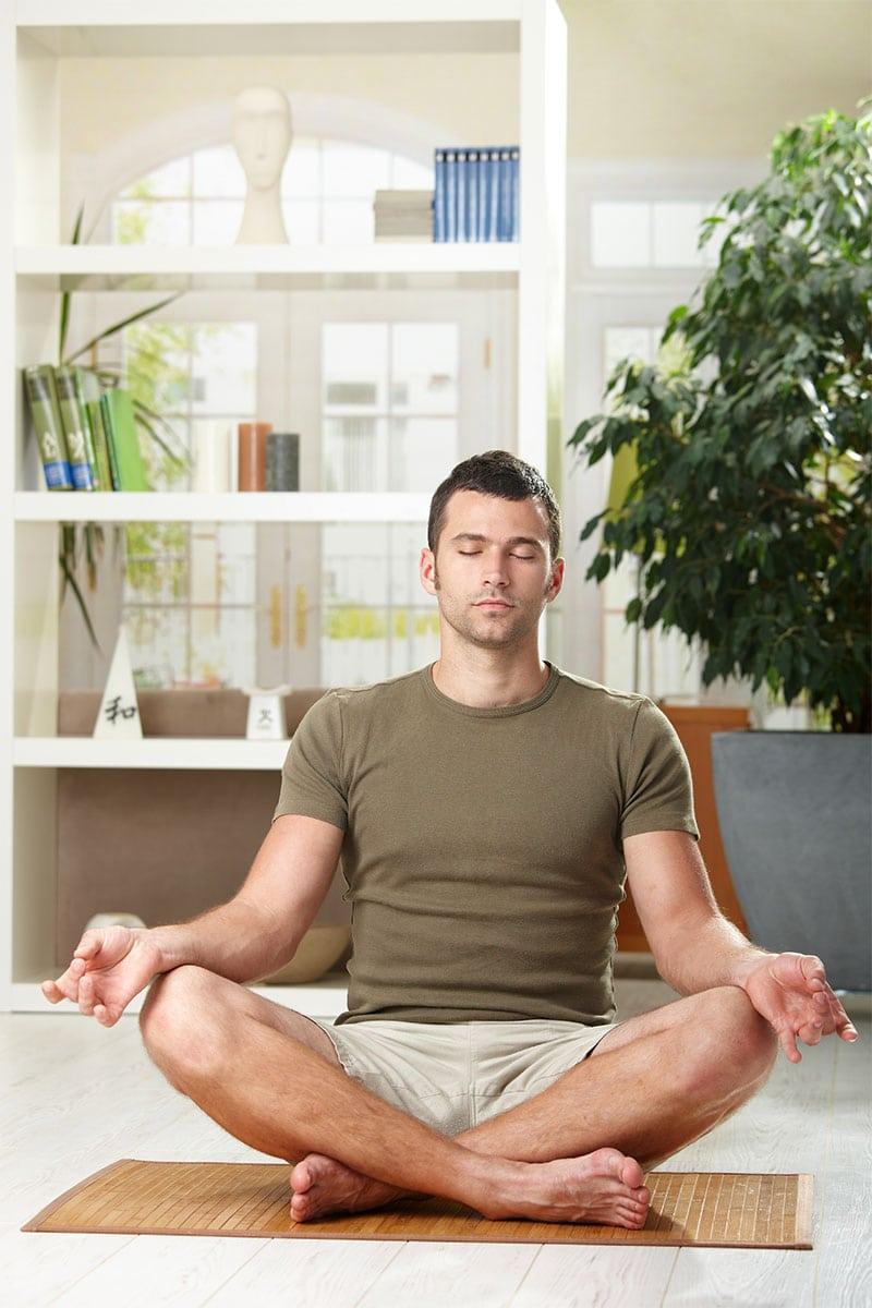 Anti Stress Yoga Präventionskurse für Frau und Mann